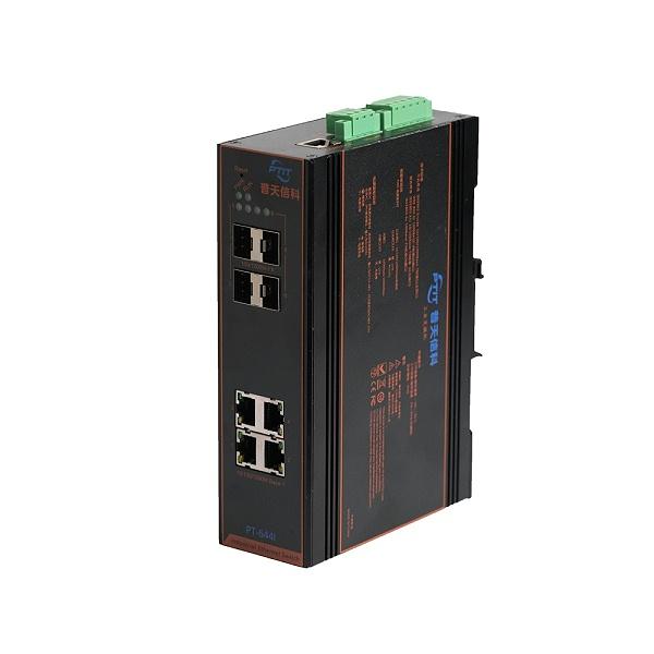 4光4电工业poe交换机